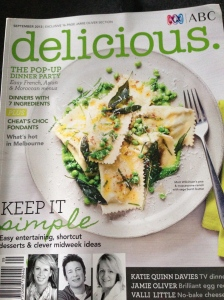 September 2013 issue of Delicious Magazine