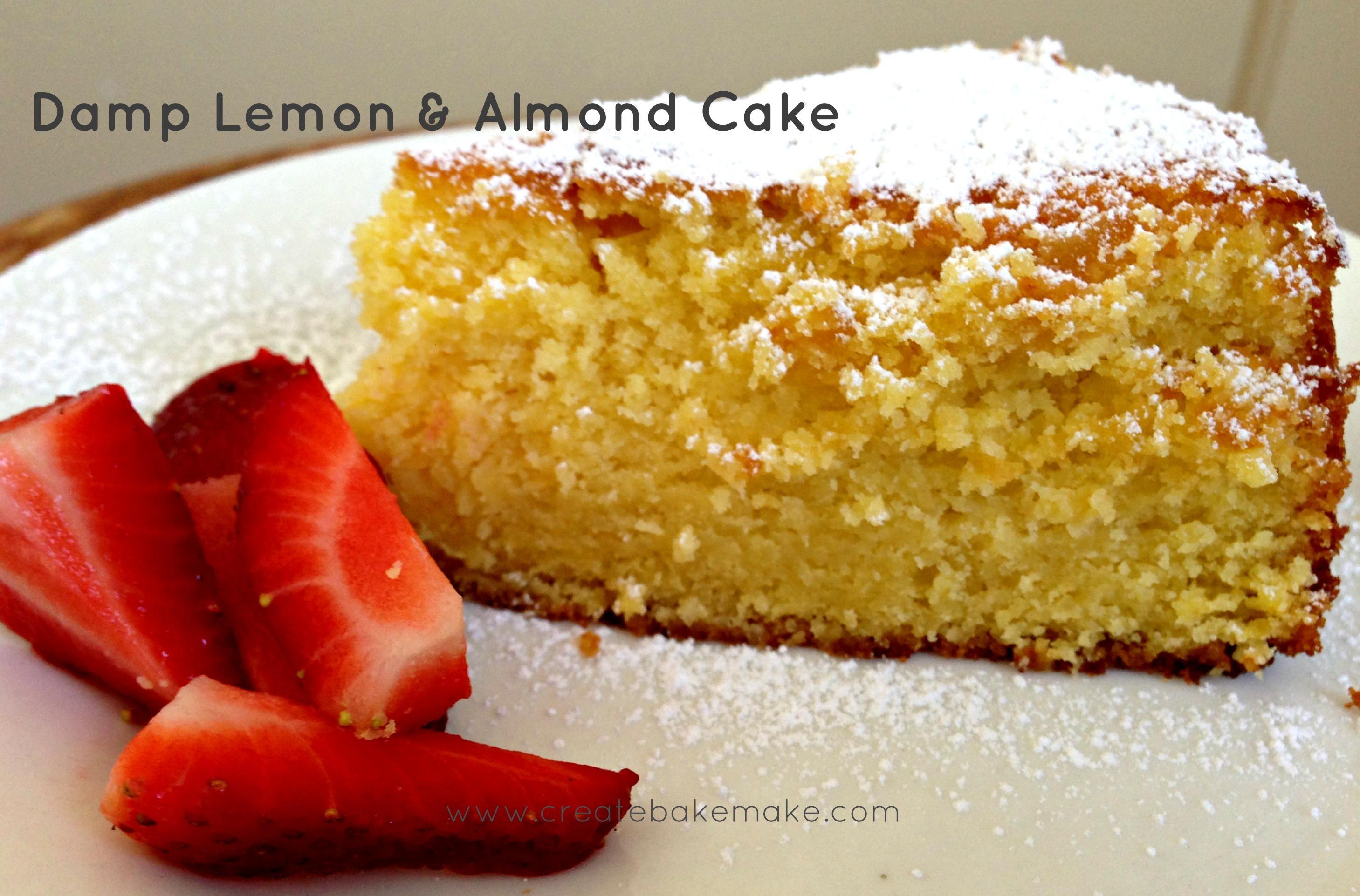 Lemon almond cake recipe