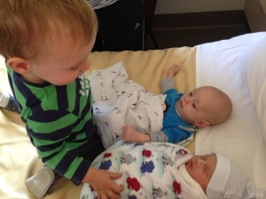 Our boys meeting for the first time xxx
