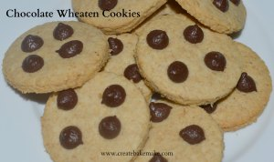 Chocolate Wheaten Cookies
