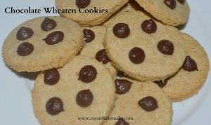 Chocolate Wheaten Cookies