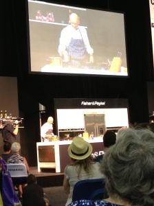 Matt Golinski's cooking demonstration