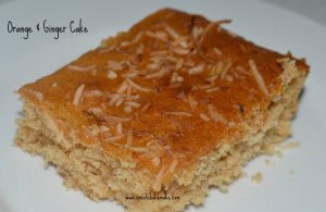 Orange & Ginger Cake