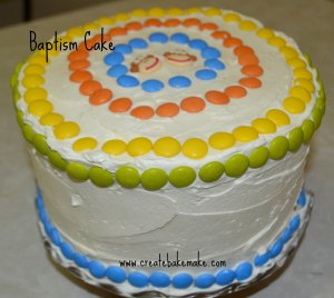Baptism Cake1