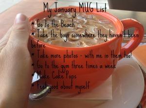 January MUG list